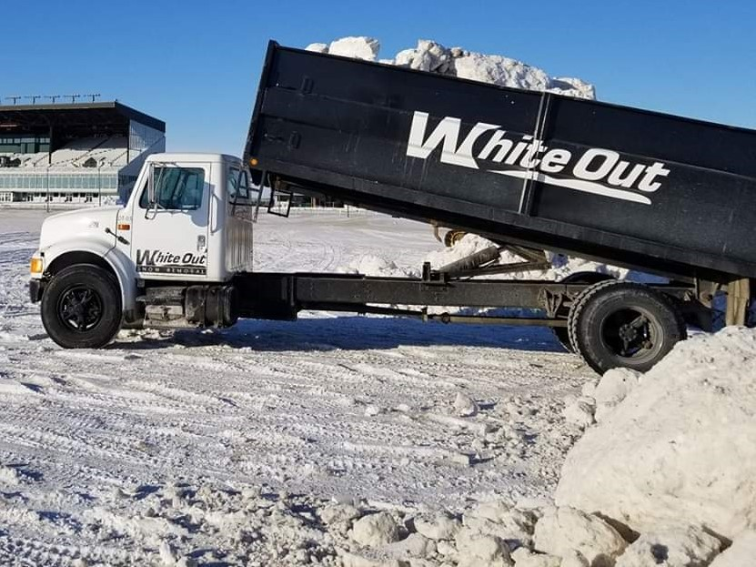 snow hauling services